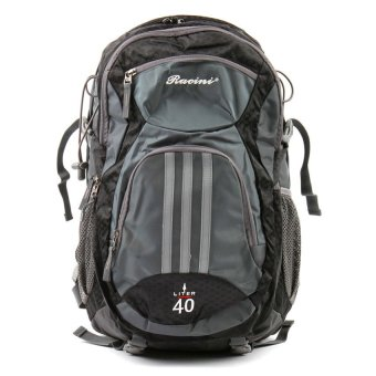 Racini 40-373 Mountaineering Backpack (Dark Gray/Black)