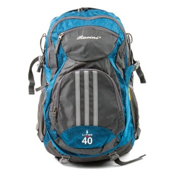 Racini 40-373 Mountaineering Backpack (Dark Gray/Blue)