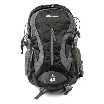 Racini 40-374 Mountaineering Backpack (Dark Gray/Black)