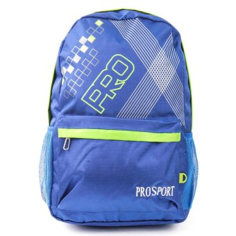 Racini Backpack (Blue/Light Green)