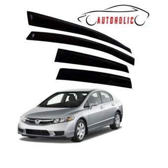Rain Guard Visor for Honda Civic FD 2006 to 2011