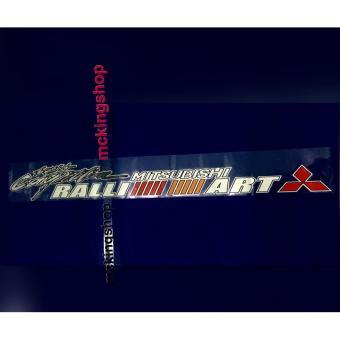 Ralliart Windshield Sticker / Decals - 2
