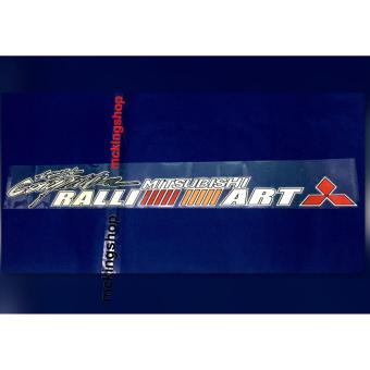 Ralliart Windshield Sticker / Decals - 3