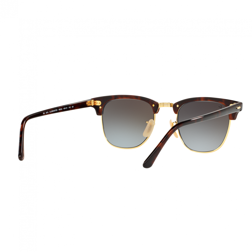 Philippines | Ray-Ban Sunglasses Clubmaster RB3016 - Shiny Red ...