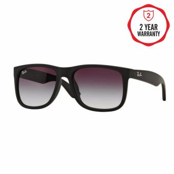 Ray-Ban Sunglasses Justin RB4165F - Rubber Black (622/8G) Size 55