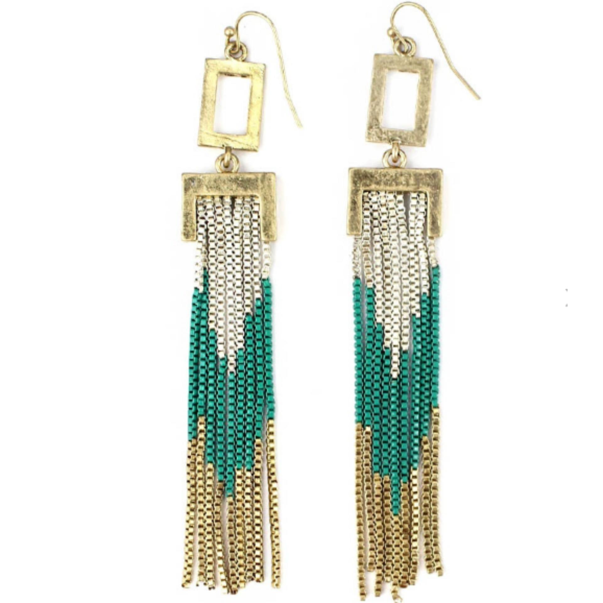 Philippines | Rectangular Earrings Vintage Earrings Dangle ...