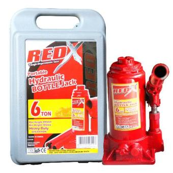 Red X Hydraulic Bottle Jack - 6ton Price Philippines