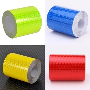 Reflective Warning Conspicuity Roll Adhesive Tape Film Vehicle Sticker 3M - intl