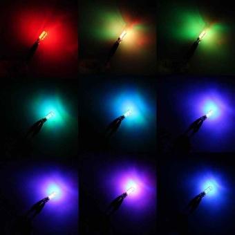 Remote control 5050-6 smd silicone RGB car LED bulb SMD side light bulbs - intl - 5