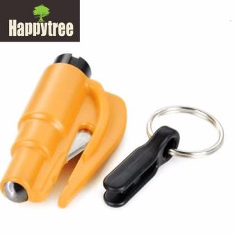 ResQ Me Multifunction 2 - in - 1 Emergency Car Safety Hammer + Belt Cutter + Keychain Emergency Tool Price Philippines