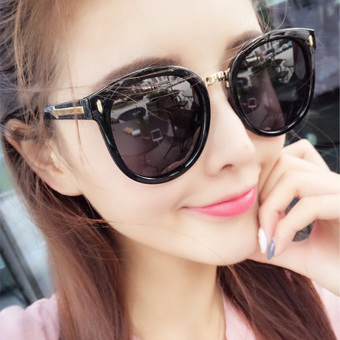 Retro New style women's anti-uv sun glasses