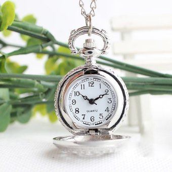 Retro Spider Webs Pocket Watch Necklace Fashion Jewelry Pendant Watch Price Philippines