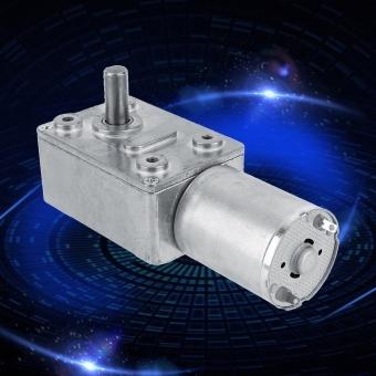 Reversible High Torque Worm Geared Motor DC 12V Reduction Motor(5RPM) - intl - 2
