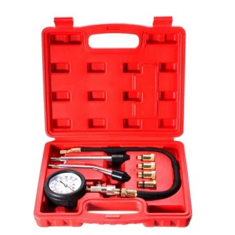 RHS Automotive Petrol Engine Compression Tester Test Kit Gauge Car Motorcycle Tool - intl Price Philippines