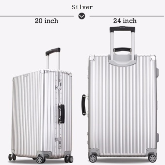"Rimowa inspired similar-look luggage set 20"" & 24"" generic brand Price Philippines"