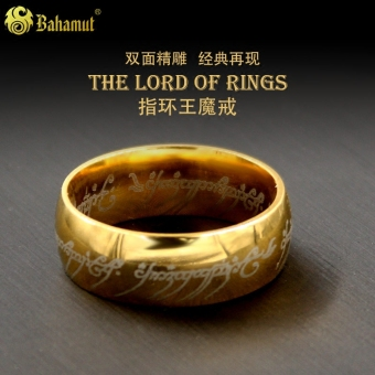 Ring King Shishang men titanium ring Lord of the Rings