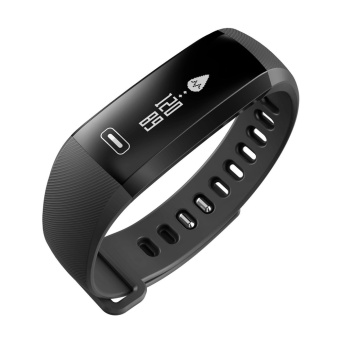 robxug Bluetooth Smart Bracelet Watch Wristband,Wireless Waterproof Fitness Pedometer Sports Activity Calorie Counter With Heart Rate Blood Pressure Health Sleep Monitor For Iphone IOS Android Smartphone - intl