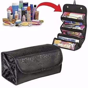 Roll n Go Cosmetic Bag for MakeUp Toiletry Travel Bag Convenient