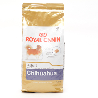 Royal Canin Breed Health Nutrition Chihuahua Adult Dry Dog Food1.5kg