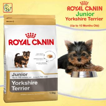 Royal Canin Junior Yorkshire Terrier Up to 10 Months Old Dry DogFood 1.5kg