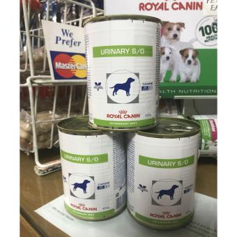 Royal Canin Urinary S/O Canine Wet Can Food 420g Set of 3