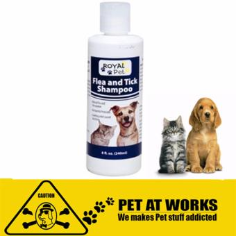 Royal Pet Tick and Flea Shampoo (240ml) For Dog and cats petsNatural solution