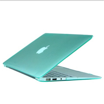 Rubberized Protective Tablet Case For Apple Mac-book Air 11.6 Inch (Green) - Intl