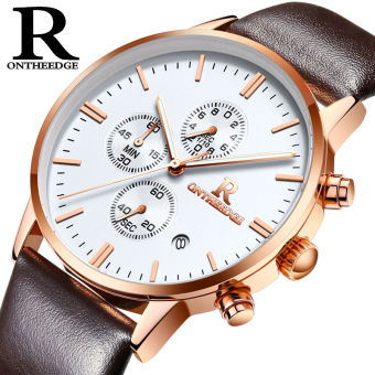 Ruizhiyuan genuine multi-functional chronograph fashion watch