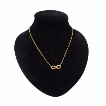 Rukia Charming Gold Infinity Necklace Price Philippines