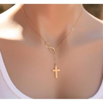 Rukia Gold Plated Infinity Symbol Cross Price Philippines