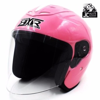 RXR 007 Open Face Motorcycle Girls Helmet(Pink)