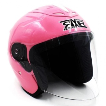 RXR 007 Open Face Motorcycle Girls Helmet(Pink) - 3