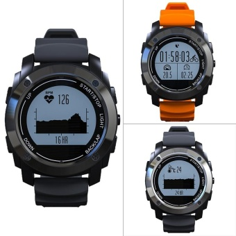 S928 GPS Outdoor Sports Heart Rate Monitor Smart Watch For Android IOS - intl
