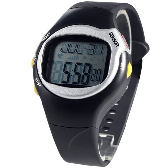 S9Q Fitness Pulse Counter Heart Rate Monitor Sport Watch Digital Running Timer
