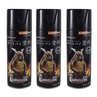 Samurai 33/6 Red Spray Paint (Pack of 3)