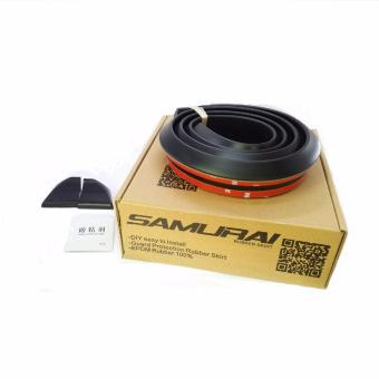 Samurai Rubber Ducktail 3.5cm (BLACK)