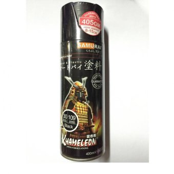 Samurai Spray Paint 30/109 BLACK 400ml