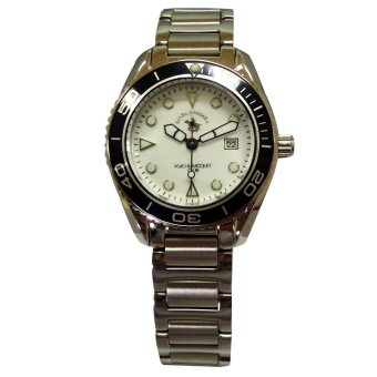 Santa Barbara Polo & Racquet Club Women's Silver Stainless Steel Watch
