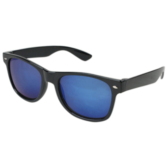 Sanwood Mercury Mirror Shade UV Protection Sunglasses (Blue)