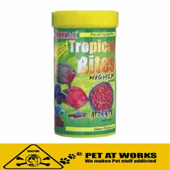 Sanyu Tropical Bites Fish Pellets (120g) For Pets and Fish Food