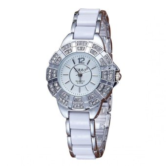 Sbao Diamond Dial Type Stainless Watch (Silver)