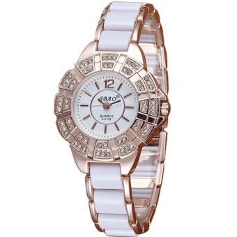 Sbao Diamond Dial Type Stainless Watch (White) Price Philippines
