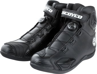 Scoyco(R) MBT-Series MBT-010 Motorcycle International Boots Touring& Racing (Black) (Size 41)