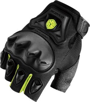 Scoyco(R) MC-Series MC29D Motorcycle Gloves w/ Knuckle Touring &Racing (Neon Green) (L) Price Philippines