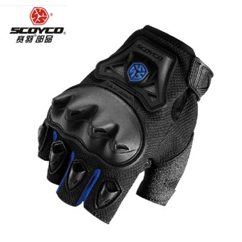 Scoyco off-road motorcycle summer half finger race car gloves