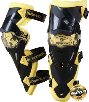 Scoyco Premium Gears K-Series K12 Motorcycle Knee Pads &Protector Guards Protector (Yellow) Price Philippines