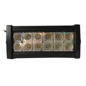 Sec 00571 Dual Color 36W LED Spot Light with Remote (Black)