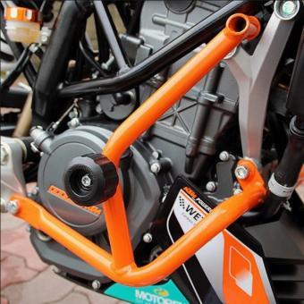 ... SEC 01173 KTM Duke 200 Engine Crash Guards - 5
