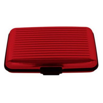 Security Credit Card Wallet (Red) - picture 2