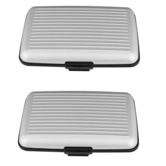 Security Credit Card Wallet Set of 2 (White)